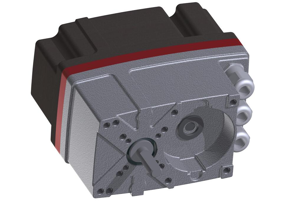 Electro-mechanical part-turn actuator